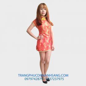 Bộ trang phục Xường xám - Trung Quốc