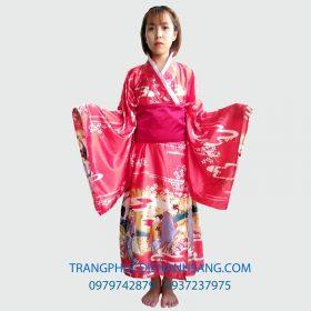 May đồ kimono biểu diễn