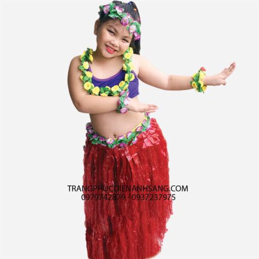 thuê váy hawaii cho bé tphcm