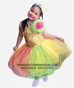 thuê đầm múa trẻ em tphcm