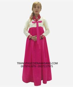 Cho thuê hanbok ở tphcm rẻ, đẹp