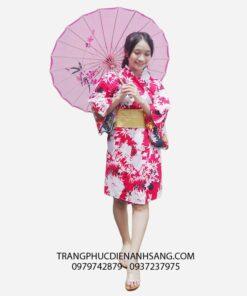 kimono nhật bản