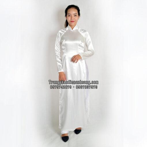 thuê áo dài trắng nữ sinh tphcm