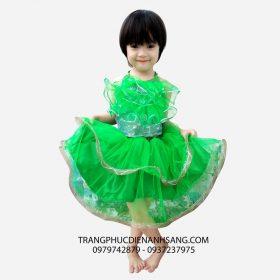 Cho thuê trang phục biểu diễn đầm múa trẻ em