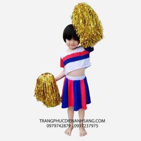 Cho thuê trang phục biểu diễn aerobic trẻ em