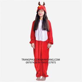 Trang phục hóa trang Noel - Thú hở mặt Tuần lộc