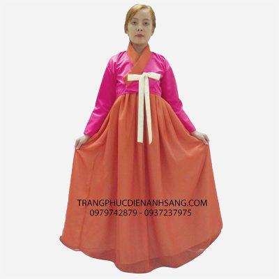 Cho thuê hanbok nữ ở tphcm