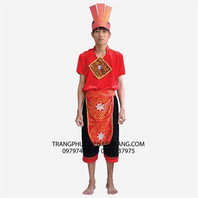 Trang phục múa dòng máu lạc hồng nam