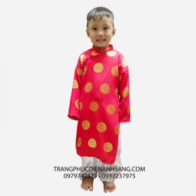 Cho thuê trang phục biểu diễn áo dài trẻ em