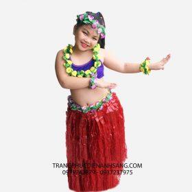 Cho thuê trang phục biểu diễn Hawaii trẻ em